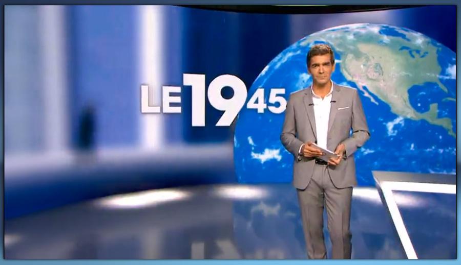 Le 19/45 – M6 (Studio Jean DRUCKER)