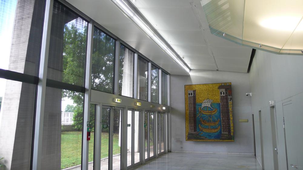 Hall d'accueil Tour BOLLORÉ