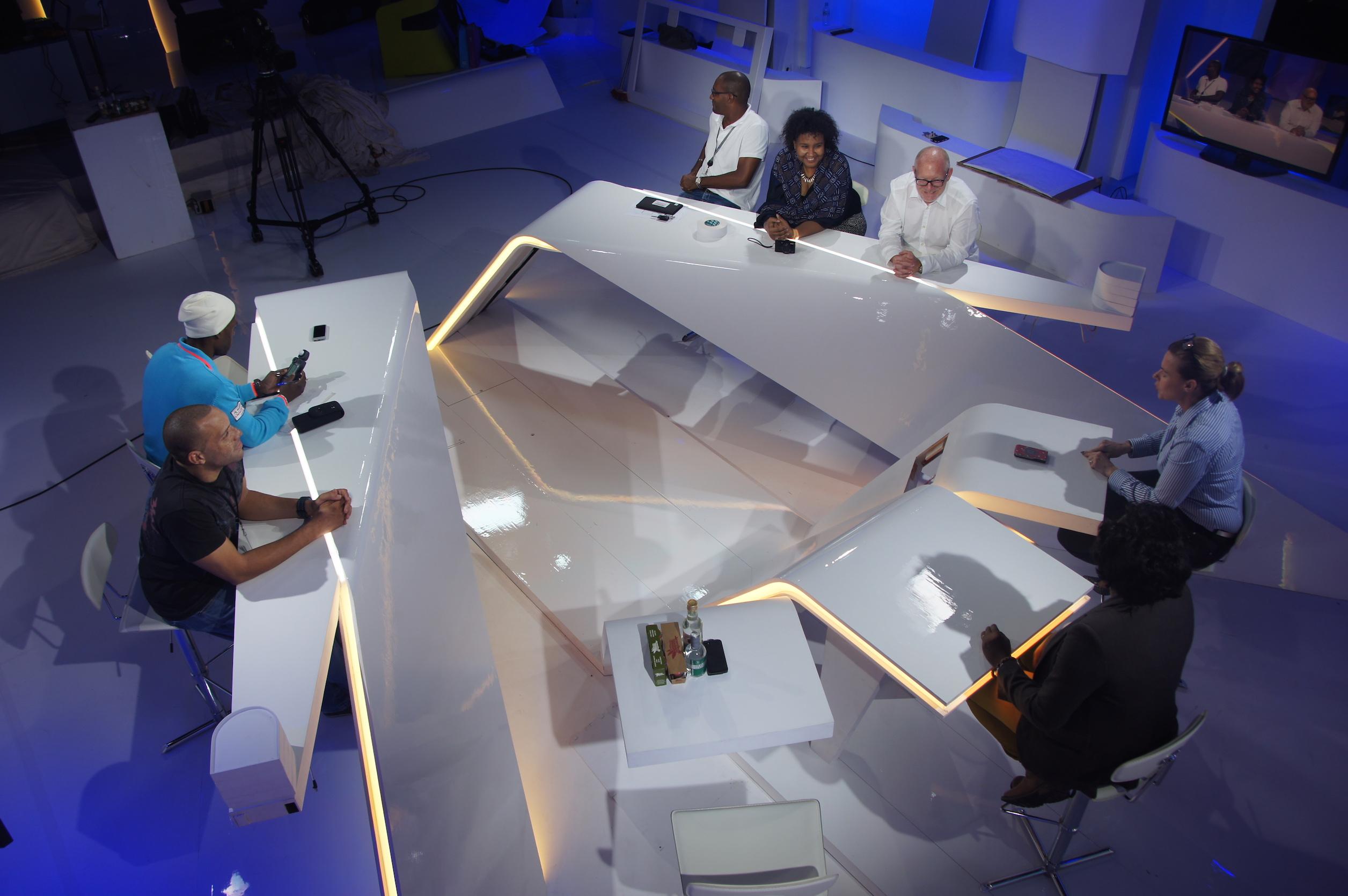 Plateau Guyane 1ère – France Télévision