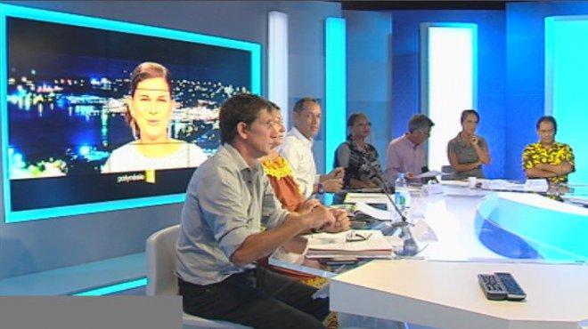 Plateau Polynésie 1ère – France Télévision