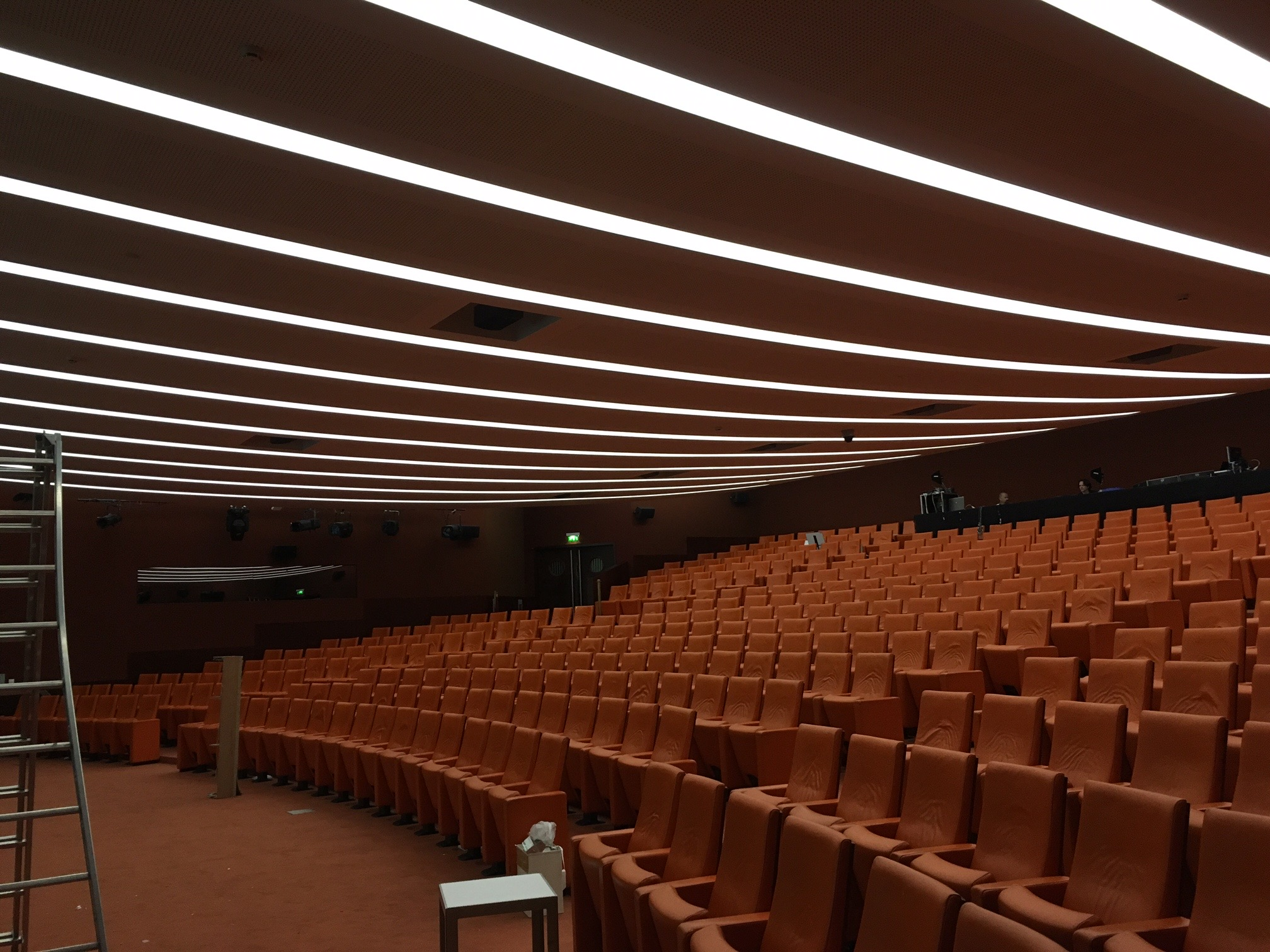 Auditorium campus Les Fontaines – Capgemini Gouvieux