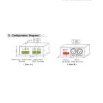 LED CONTROLLER DMX TO DIGI – LT-DMX-6803